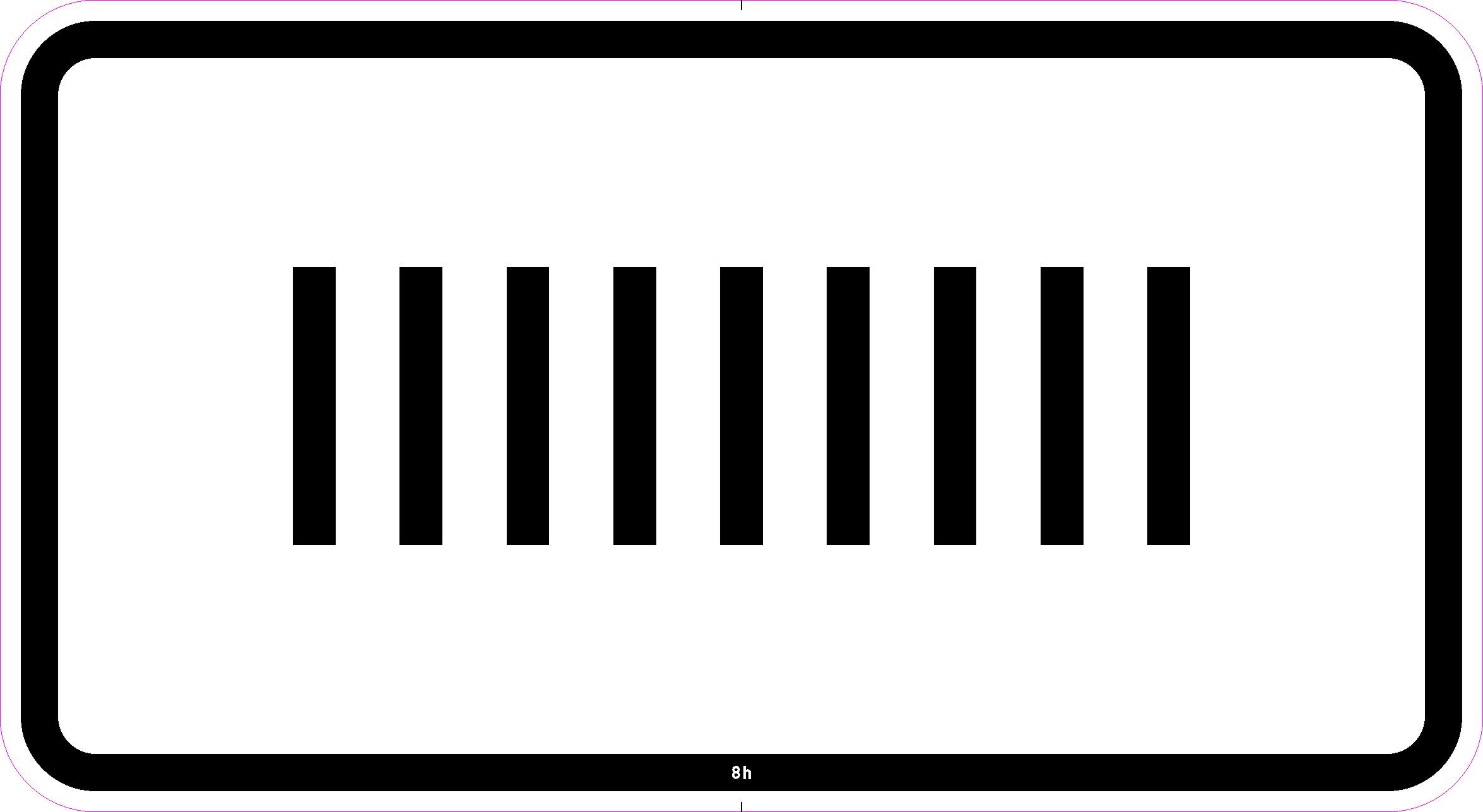 sonderschild kundentext wei schwarzer rand und text zusatzzeichen verkehrszeichen. Black Bedroom Furniture Sets. Home Design Ideas